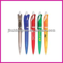 Supply click plastic pens souvenir