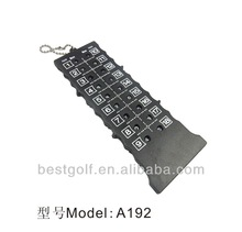 A192 Wholesale Golf Accessory 18 Holes Cheap Plastic golf score Counter