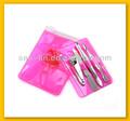 pink saco transparente unha ferramenta de manicure do produto