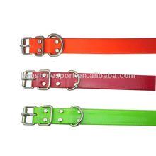colorful TPU sport dog collar