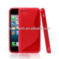 Hot sale!!! For iphone 5c TPU case, tpu soft case for iphone5c