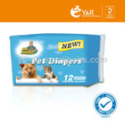 2013 high quality dog and pet diaper,pet diapers