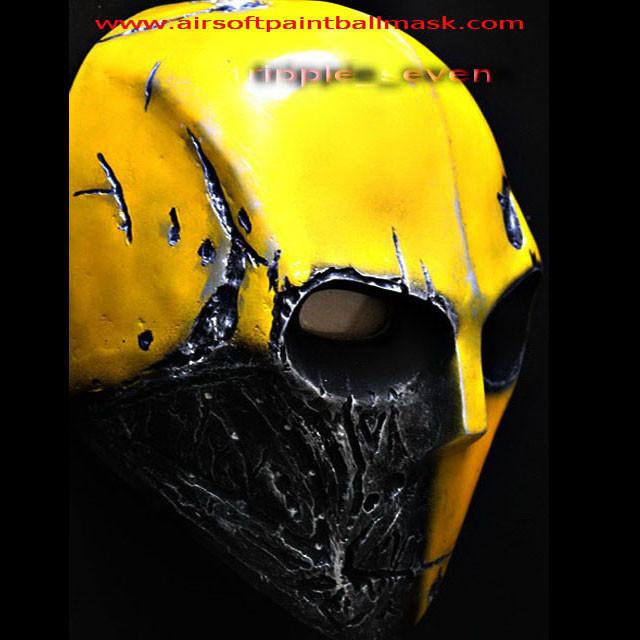Как сделать пейнтбольную маску