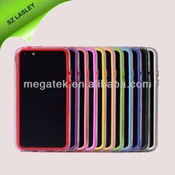 phone case pc+silicon bumper case for iphone 5c, for iphone 5c case bumper ,for iphone case 5c