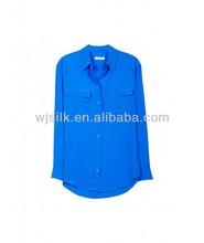 Equipment shirt silk CDC pocket shirt