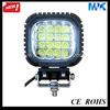 Jeep SUV ATV 4WD emergency vehicle warning lights,16pcs*3w cree led car lamps