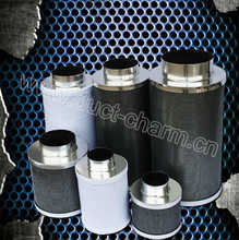Hydroponics carbon odor air filter/activated carbon filter gas mask