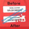 Auto - pdfagrofuels ebook permanente etiquetas adhesivas, Modelo de los productos pegatinas con los números de serie, Contra la falsificación Eggsehll activos pegatinas