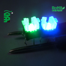 illuminated momentary switch, Tactile Switch with multiple LED, ROHS compliant, 6*6mm tact switch TSL06121
