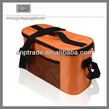 Thermal Lined Portable Wine Cooler Lunch Bag For Promotion