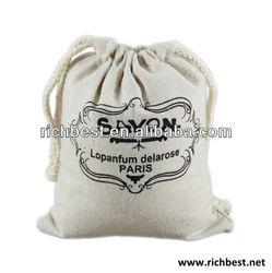 Handmade linen bags with wedding candies