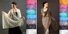 Orenburg shawl from goat fiber