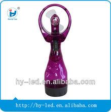 Best seller mini outdoor plastic water mist spray fan
