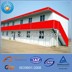 light steel prefabricated houses for labor house,camp house, rental hotel house