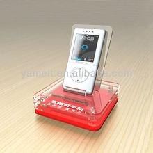 Showcase Used Custom Made Modern Acrylic Cell Phone Security Display Holder