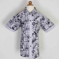 High quality boy's cotton shirt for stocklot