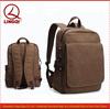 Heavy duty canvas backpack bag/Vintage waterproof canvas backpack wholesale
