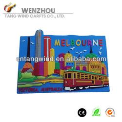 Souvenir Custom Soft PVC 3d fridge magnet
