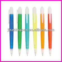 Simple atmospheric translucent plastic ball pen