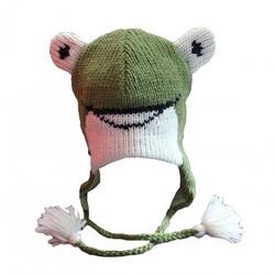 New winter plush cute hats handmade crochet plush patterns animals knit hats baby