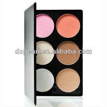 Hot sell 6 colors concealer blush cheap makeup palette