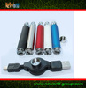 2013 most popular e cigs ego usb passthrough with micro USB