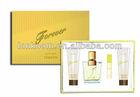 Forever perfume gift set golden
