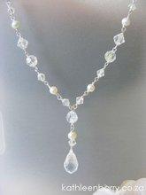 Fiona Necklace wedding bridal accessories jewellery