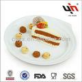 unglazed piatto in ceramica