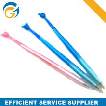 Promotional Transparent Mouse Stylus Plastic Ball Pens