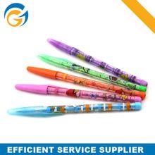 Promotional Transparent Cartoon Plastic Machnical Pencil
