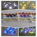 Navidad led de luz del grano/led decoración de guirnalda de cuentas