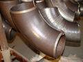 Ansi b16.9 sch40 90 derece karbon çelik dirsek