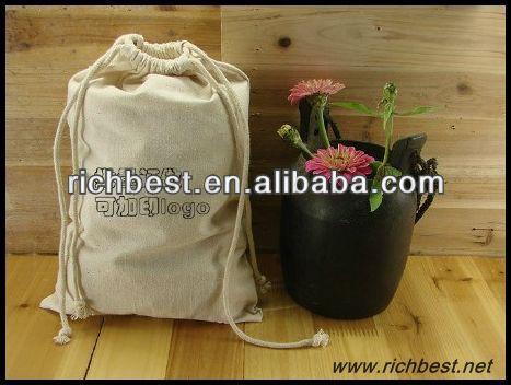 small canvas drawstring bag,drawstring cotton bag