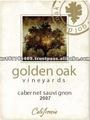 roble de oro viñedos cabernet vino de color rojo de las marcas