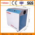 Buena calidad 60l tanque de aire de shangai towin db bajo eléctrico silencioso 5-8 barra libre de aceite dental de pistón compresor de aire silencioso de la unidad