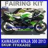 Factory fairings for KAWASAKI NINJA 300 2013 custom bodywork