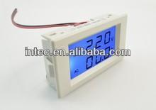 Dual display digital AC voltmeter/AC ammeter LED voltage meter