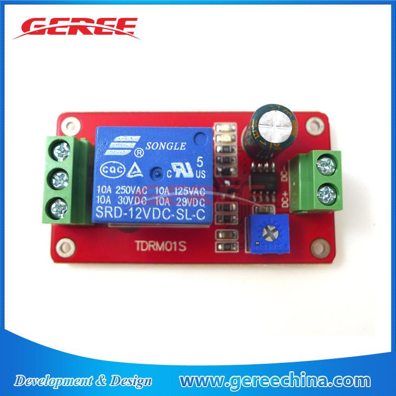 Einschaltverzögerung relais modul ne555 0-20s modul 12v timer