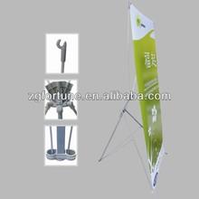 Adjustable aluminum pole Korea X banner stand B