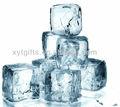 Petg quadrados forma de cubo de gelo reutilizável para wisky& cooler