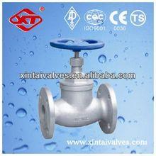 casing duckbill valve flanged globe valve stainless steel valves