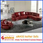 Modern living room italian leather hot selling arab sofa (EM-ldy118)