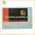 Sello de presión ups de correo de sobres bolsa para plástico embalaje paquete
