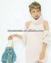 Turtle neck fashion women dress new fashion dresses 2014