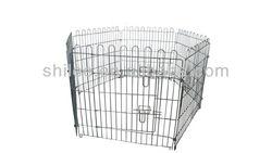 6 Panel metal fence