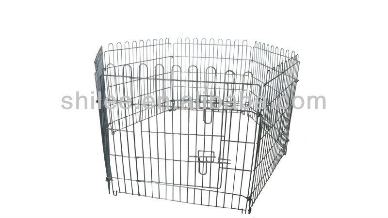 Folding dog cage / fence
