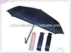 fashionable folding umbrella with case small pocket folding umbrella Ladies umbrellas