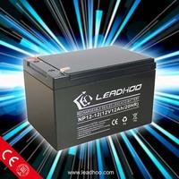 good quality solar battery 12v 12ah sealed lead-acid battery