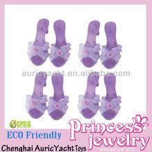 Niños de plástico de zapatos de la princesa, Mini juguete de los zapatos ZH0904033
